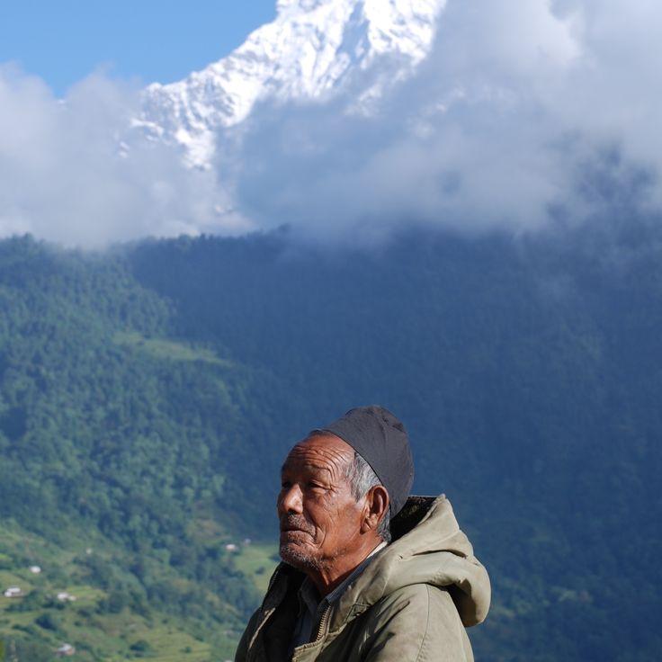 Man of the Mountains - Annapurna Region, #Nepal