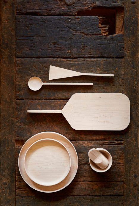 Okay Studio to exhibit hardwood designs at Clerkenwell Design Week / Runcible collection by Mathias Hahn