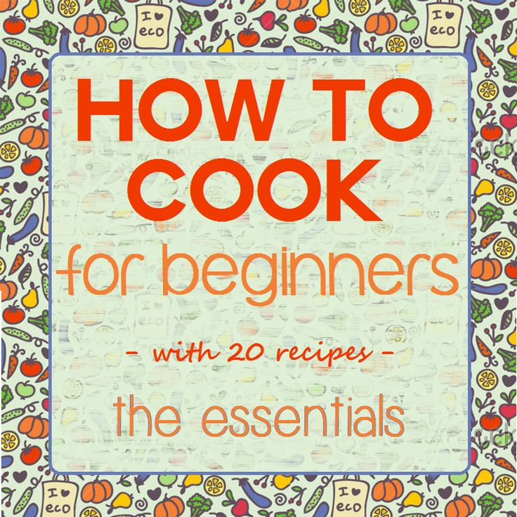 Easy recipes for idiots