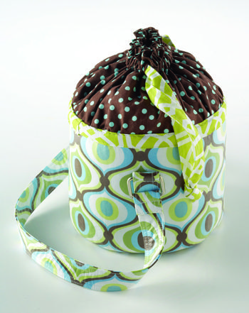 Sew Serendipity lunch bucket bag ~ Free PDF Project « Sew,Mama,Sew! Blog