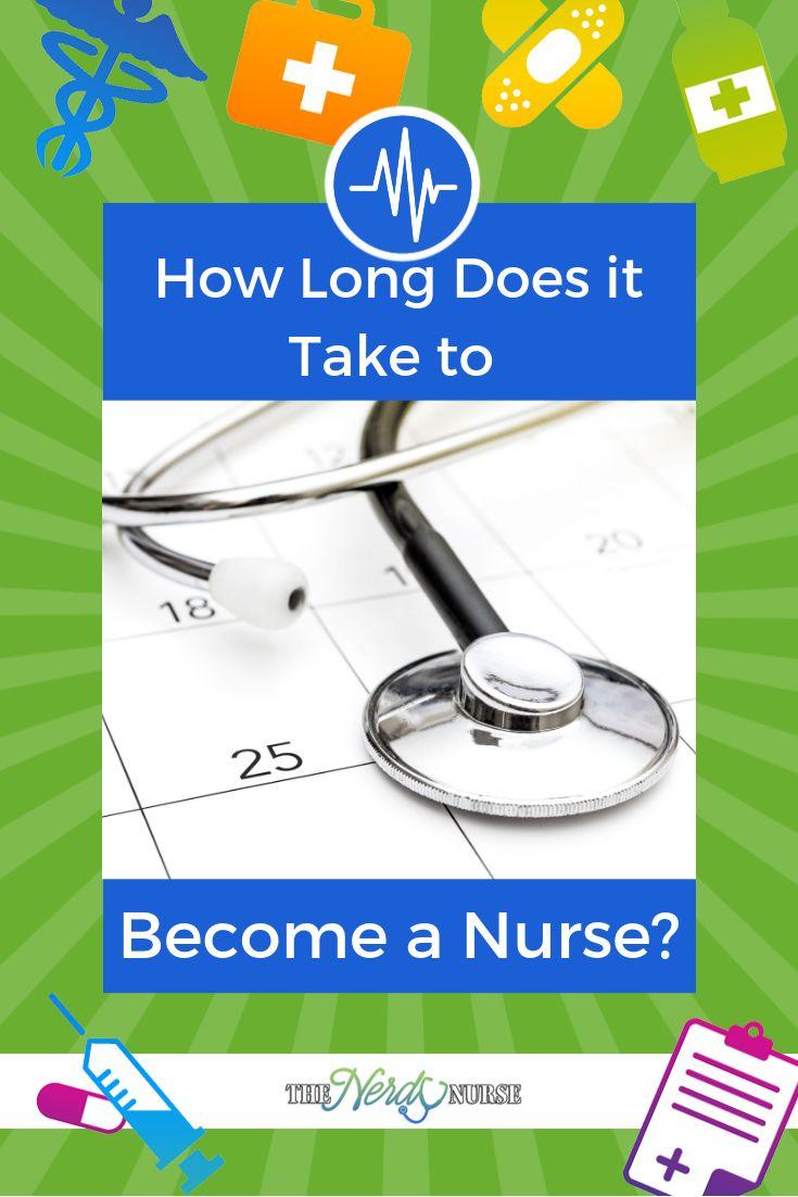 How long does it take to a nurse nurse