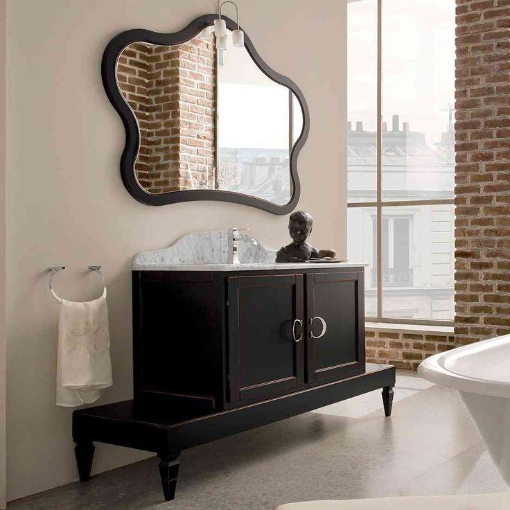 Bagno york cerasa linea classico colore nero Stanza da