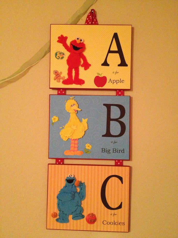 Elmo Bedroom Decorating Ideas: 10 Best Sesame Street Toddler Bedroom Images On Pinterest