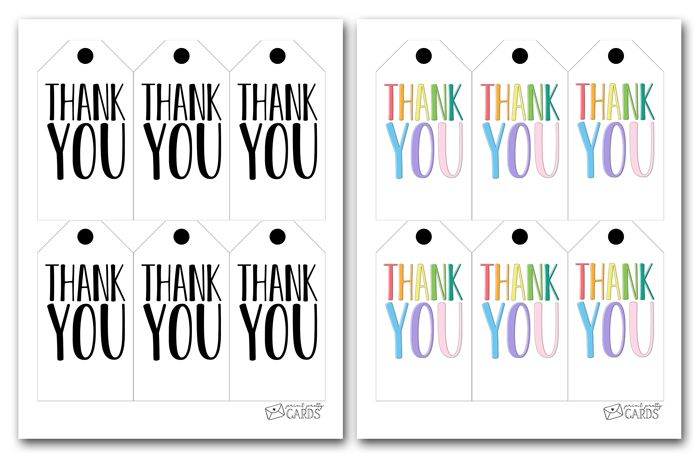 Thank You Gift Tags Blooming Homestead Gift Tags Printable Gift Tags Wedding Gift Tags