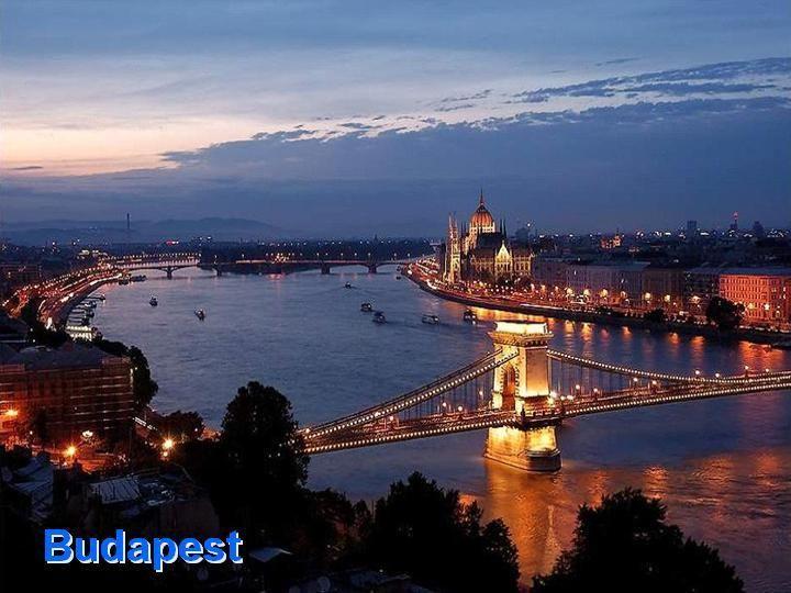 Hungary-Budapest, 2,597,000 (metro. area), 1,769,500 (city proper)