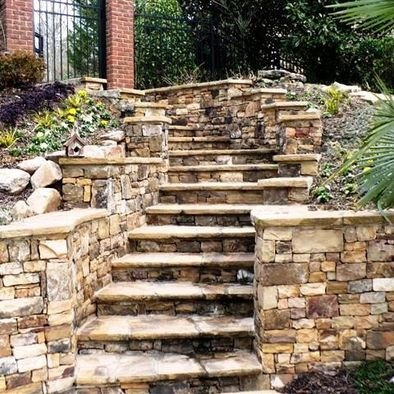 32 best steps images on pinterest garden deco home and for Terrace steps
