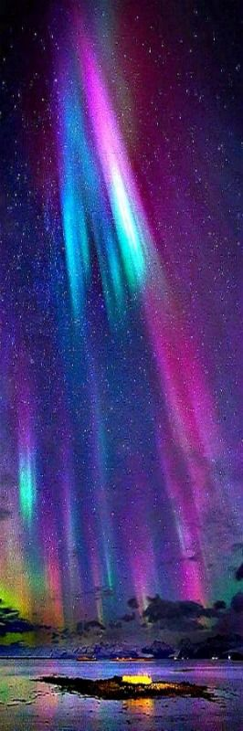 She always was so bright, whispers of the Universe, teaching me its for all of us. A Warrior of the Aurora, a light so colorful, her supernova stride leaves you always wanting more. Goodnight.