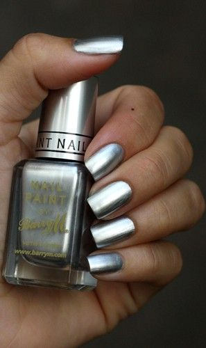Barry M Silver foil - the best nail polish ever