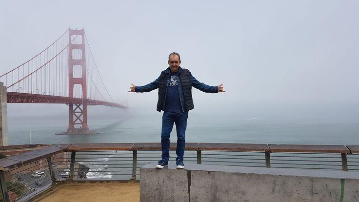 San Francisco golden gate bridge 2017