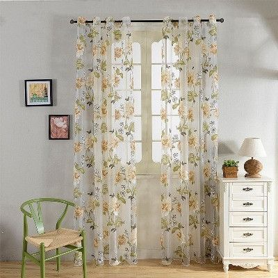 1000 Ideas About Sheer Curtains On Pinterest Curtains