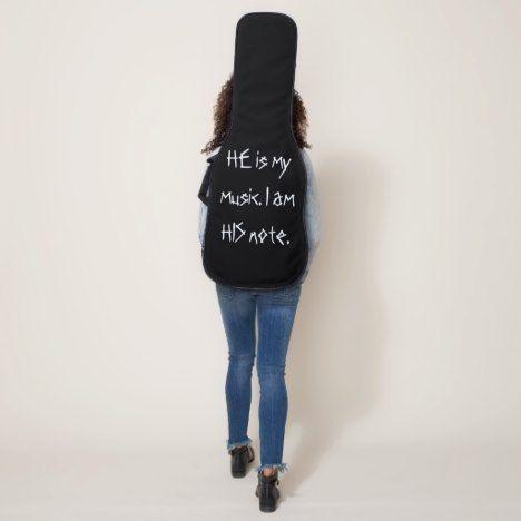 """Noteworthy"" electric guitar bag. Guitar Case #guitarcases"