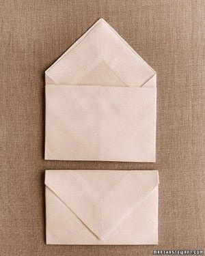 Napkin-Folding Ideas | Martha Stewart