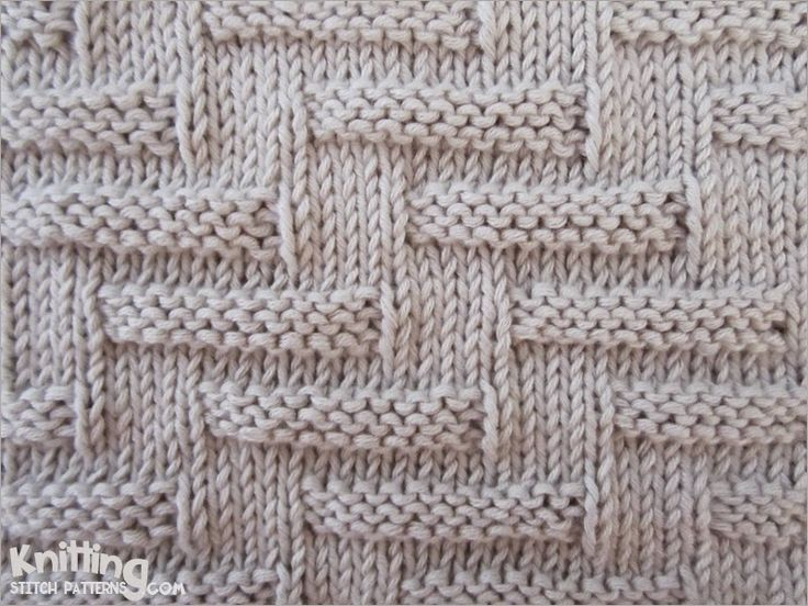 "Here is a picture of what is called ""Escalator Pattern"" It's a charming broken welt pattern that is very easy to knit, yet creates an attention-getting effect."