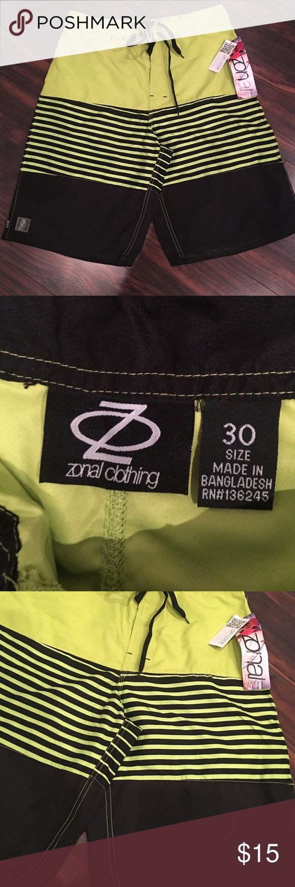 MENS neon yellow shorts NEW with tags. Neon yellow shorts Shorts Athletic