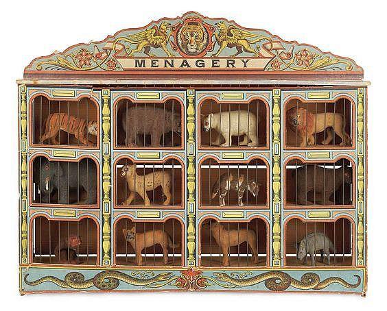 Antique Circus Toy.