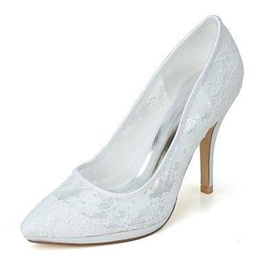 παπούτσια τακούνια των γυναικών μυτερό toe στιλέτο τακούνι παπούτσια αντλιών γάμο περισσότερα χρώματα – EUR € 45.45