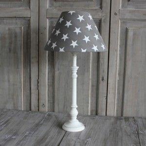 Biggie Best Grey Star Table Lamp Set