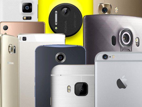 Highend-Handy-Kameras im Vergleich - Montage: teltarif.de