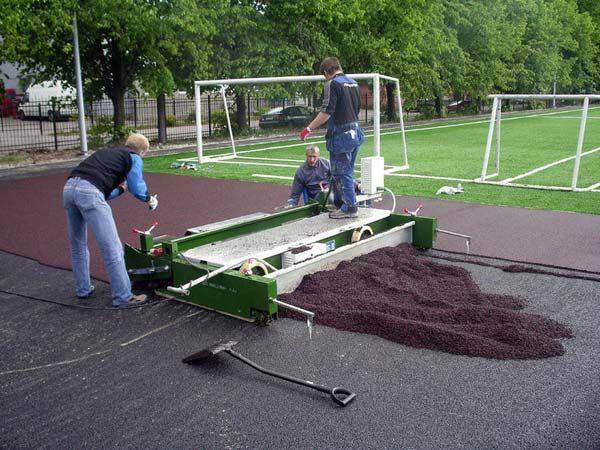 Полиуретановый клей для резиновой крошки для устройства спортивных покрытий, строительства детских площадок, формования резиновой тротуарной плитки