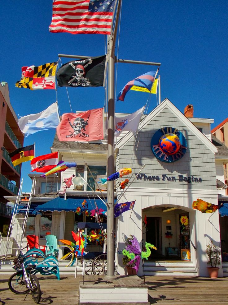 The Kite Loft, Ocean City, MD on the Boardwalk 5th street