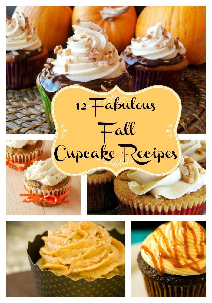 12 Fabulous Fall Cupcake Recipes You Must Try!
