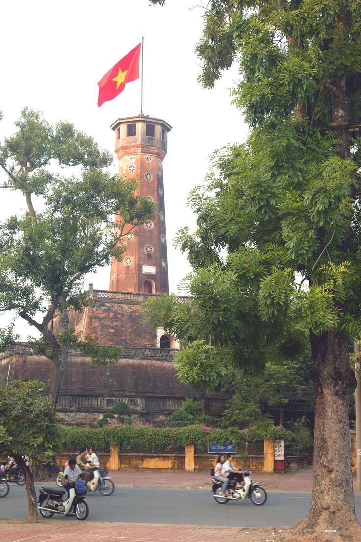 #Vietnam, Hanoi imperial citadel - UNESCO site
