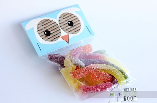 NEW SET OF 6 Giggle AND Hoot Inspired  Hoot  Lolly BAG Toppers With Cello Bags | eBay