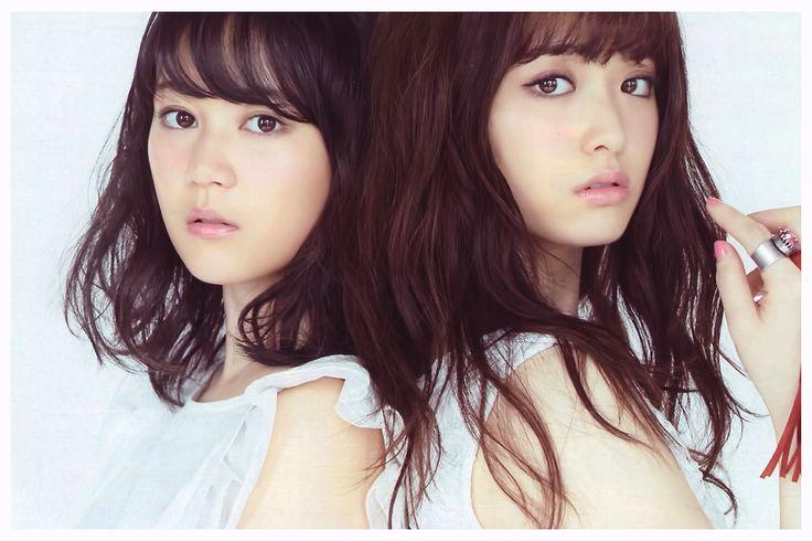 Erika Ikuta × Sayuri Matsumura - CanCam