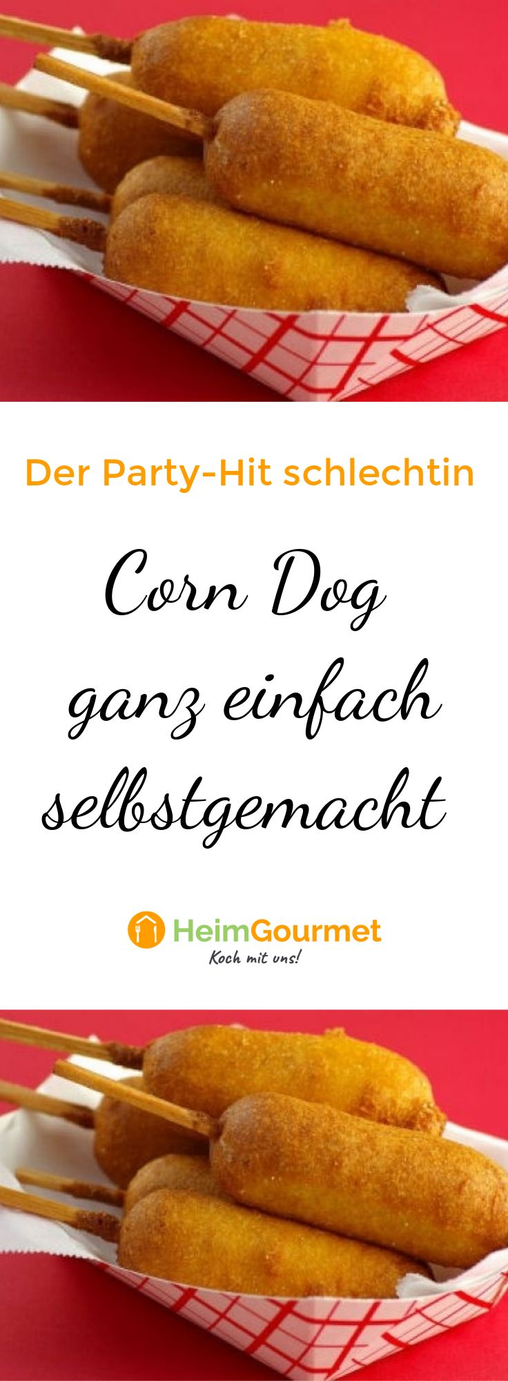 CORN DOG: This finger food must not be missing at any party   – Party Snacks