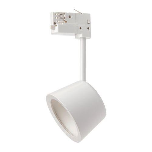 IKEA - SKENINGE, LED-es spotlámpa, , Az irányított fény lehetővé teszi, hogy kiemelj egy képet, vagy egyéb tárgyat.A rugalmas illesztéssel könnyen módosítható a spotlámpa iránya, ha máshová szeretnél világítani.