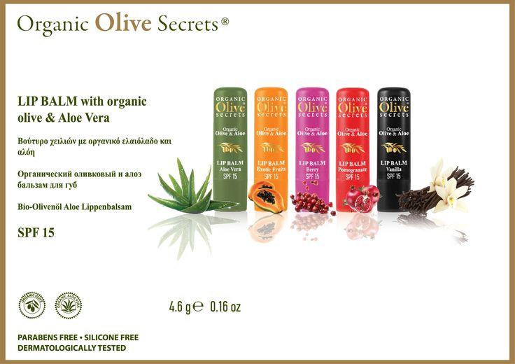 Lip Balm Organic Olive & Aloe Vera