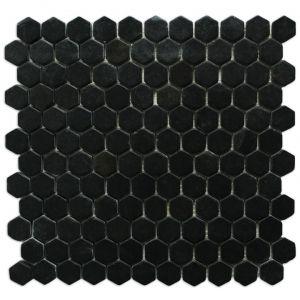 Macedonian Black mozaika_łazienkowa_mosaic_athena_czarna_biała_kamienna_mosaico_warszawa