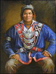 Pushmataha, Choctaw Chief, Revolutionary Patriot, and led Choctaws to support the fledling Americans helping us to win the War of 1812.