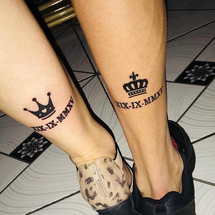 Otima Opcao O Numero Romano E A Data De Casamento Tatuagem
