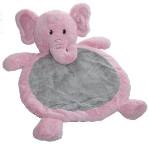 gray and pink elephant nursery - Google Search