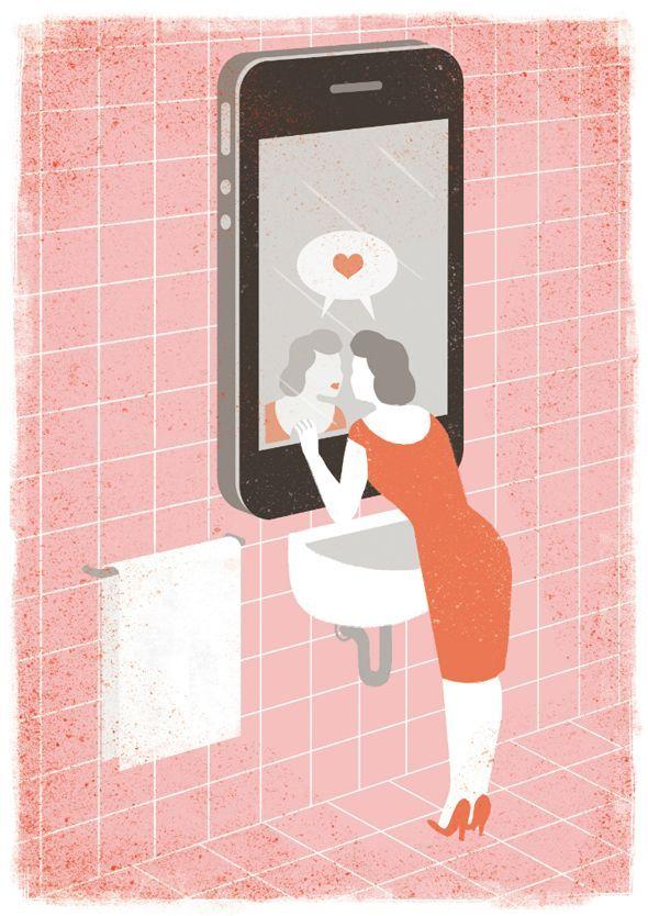 selfie art conceptual - Google Search