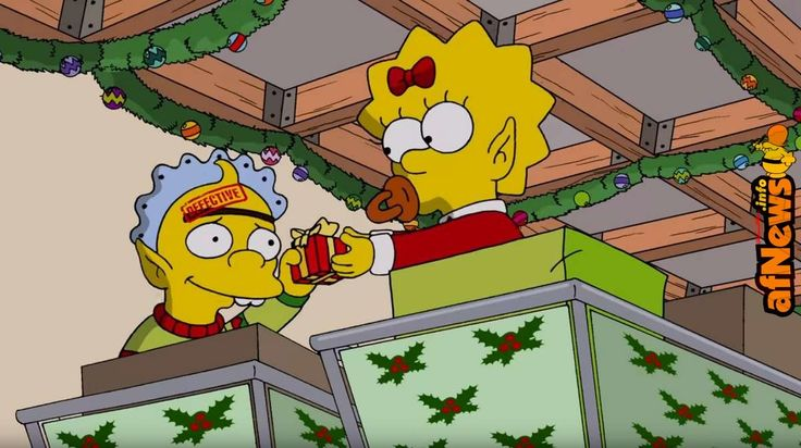 Video: THE SIMPSONS Christmas Episode Opening Titles Couch Gag Season 29 - http://www.afnews.info/wordpress/2017/12/12/video-the-simpsons-christmas-episode-opening-titles-couch-gag-season-29/