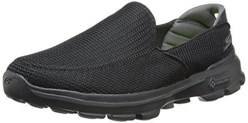 Skechers Performance Men's Go Walk 3 Slip-On Walking Shoe,Black,9 M US - http://www.facebook.com/942471062504263/posts/1072779566140078