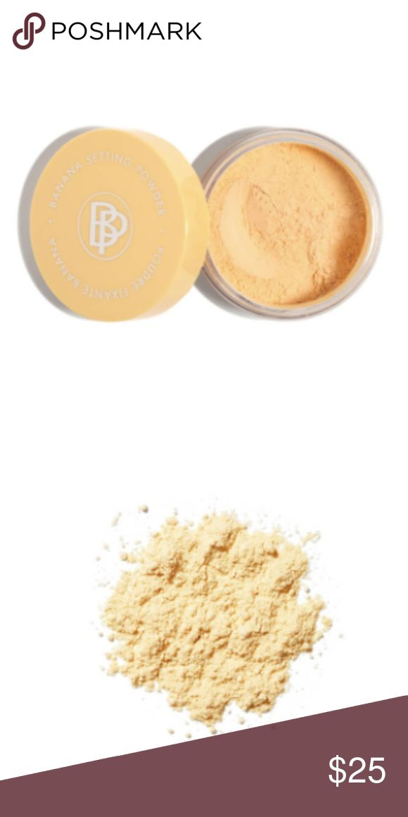 Banana Setting Powder Color-correcting powders are all the rage rn, but we're seriously *bananas* for this mellow yellow powder that camouflages redness and dark circles like a boss. Don't be fooled by its pale appearance—this yellow-toned powder works on literally ALL skin tones from fair to deep. Since it's a loose, semi-transparent formula, you can use it alone as a lowkey highlighter OR over your makeup to set and amp up the color-correcting power. BelláPierre Cosmetics Makeup