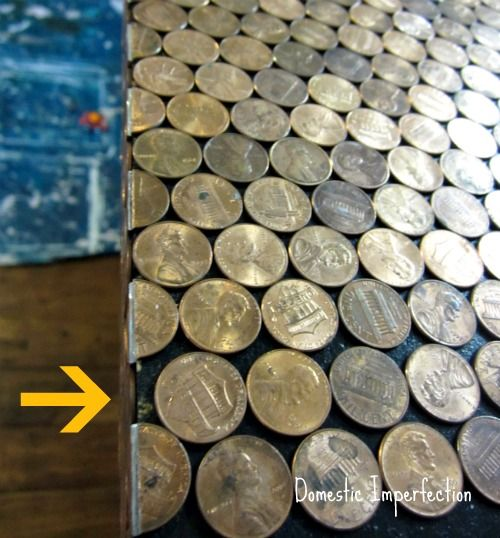 25+ Best Ideas About Penny Countertop On Pinterest