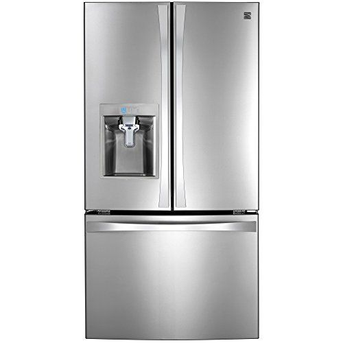 #Kenmore is America's #1 Refrigerator brand The 32 cu. ft. capacity* 36-inch Kenmore Elite 74093 French door refrigerator delivers so much more than just super c...
