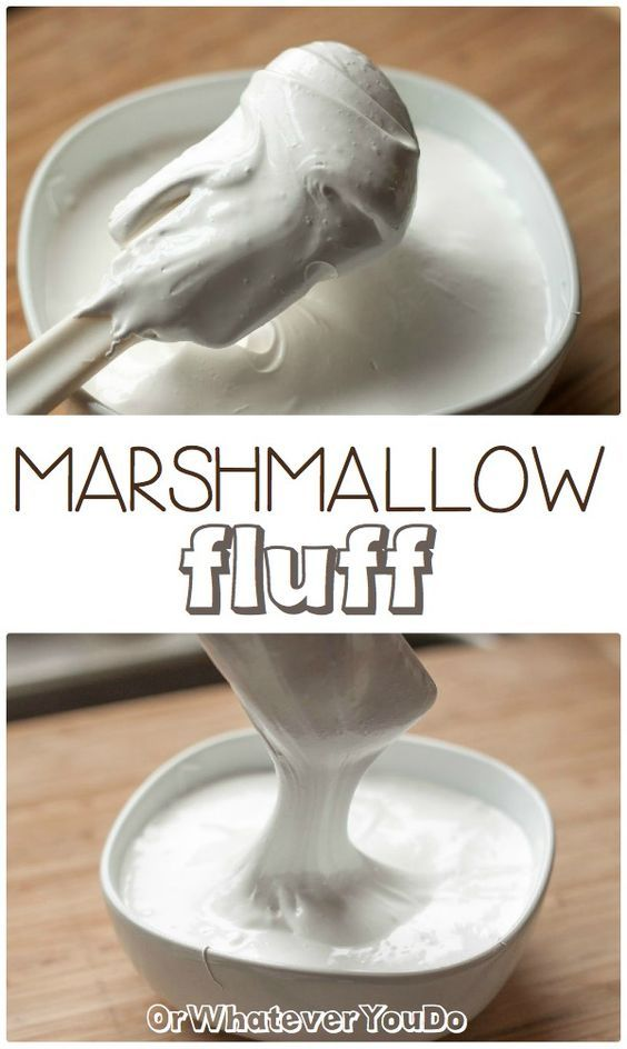 Homemade Marshmallow Fluff! SO good!