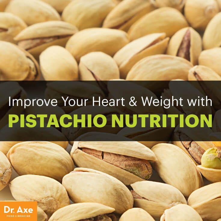 Pistachio nutrition - Dr. Axe