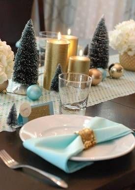 Décoration de table de Noël - Idées pour décorer une table de Noël - Déco de tables de fêtes
