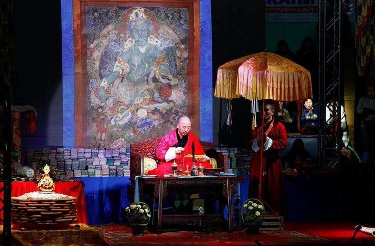 H.E. Zava Damdin Rinpoche in #Mongolia. #Buddhism #Dharma #Asia