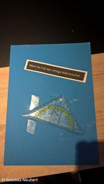 Wenn du mal das richtige Maß brauchst ...  Wenn Buch | Bastelanleitung | Wenn Buch Ideen | Wenn Buch basteln | Geschenksidee | selbstgemachte Geschenke
