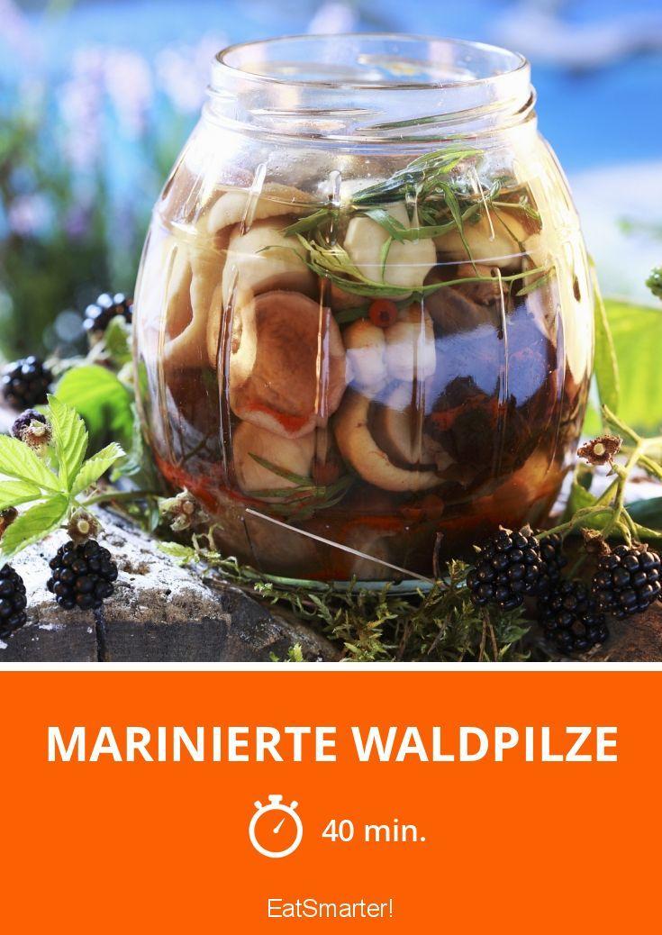 Marinierte Waldpilze - smarter - Zeit: 40 Min. | eatsmarter.de