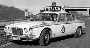 Image result for JAGUAR XJ40 POLICE CAR