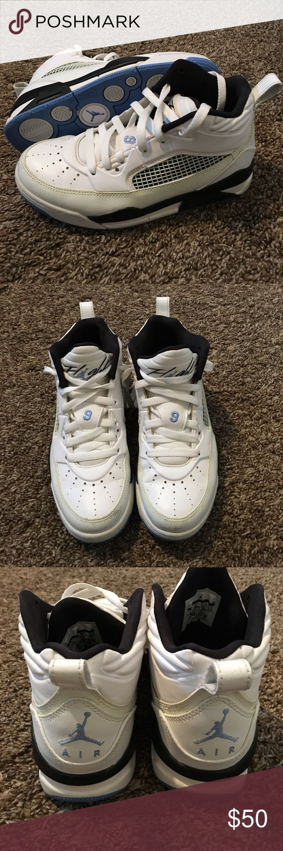 654975-127 Nike Air Jordan Flight, Size 4.5 Y. $50 Good condition. Clean. Worn a hand full of times on stage for dance competition. Air Jordan Shoes Sneakers