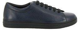 Prada Sport Men's Blue Leather Sneakers.